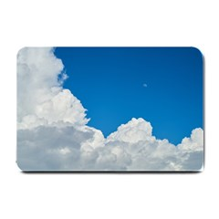 Sky Clouds Blue White Weather Air Small Doormat