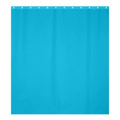Neon Color   Brilliant Arctic Blue Shower Curtain 66  X 72  (large)  by tarastyle