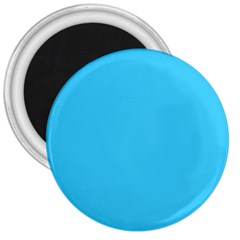 Neon Color   Brilliant Cerulean 3  Magnets by tarastyle