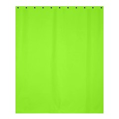 Neon Color   Brilliant Charteuse Green Shower Curtain 60  X 72  (medium)  by tarastyle