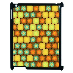 Random Hibiscus Pattern Apple Ipad 2 Case (black) by linceazul