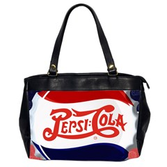 Pepsi Cola Office Handbags (2 Sides)  by Onesevenart
