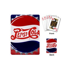Pepsi Cola Playing Cards (mini)  by Onesevenart