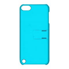 Neon Color   Light Brilliant Arctic Blue Apple Ipod Touch 5 Hardshell Case With Stand by tarastyle