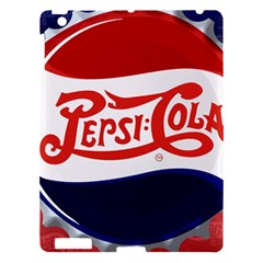 Pepsi Cola Apple Ipad 3/4 Hardshell Case by Onesevenart