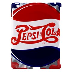 Pepsi Cola Apple iPad 3/4 Hardshell Case (Compatible with Smart Cover) by Onesevenart