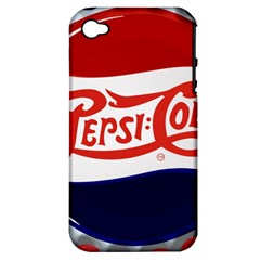 Pepsi Cola Apple Iphone 4/4s Hardshell Case (pc+silicone) by Onesevenart