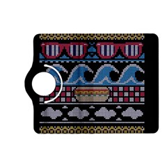 Ugly Summer Ugly Holiday Christmas Black Background Kindle Fire Hd (2013) Flip 360 Case by Onesevenart
