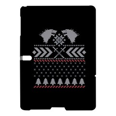 Winter Is Coming Game Of Thrones Ugly Christmas Black Background Samsung Galaxy Tab S (10 5 ) Hardshell Case  by Onesevenart