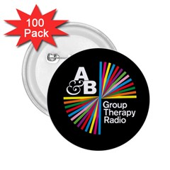 Above & Beyond  Group Therapy Radio 2 25  Buttons (100 Pack)  by Onesevenart