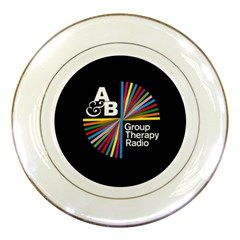Above & Beyond  Group Therapy Radio Porcelain Plates by Onesevenart