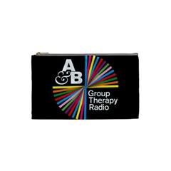 Above & Beyond  Group Therapy Radio Cosmetic Bag (small)  by Onesevenart