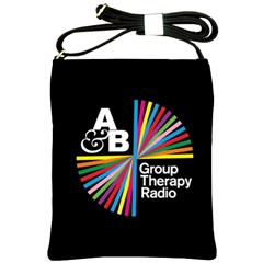 Above & Beyond  Group Therapy Radio Shoulder Sling Bags by Onesevenart