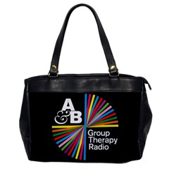 Above & Beyond  Group Therapy Radio Office Handbags by Onesevenart
