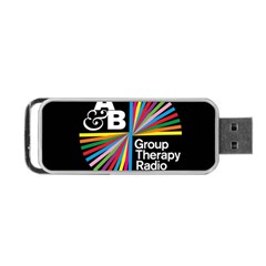 Above & Beyond  Group Therapy Radio Portable Usb Flash (one Side) by Onesevenart