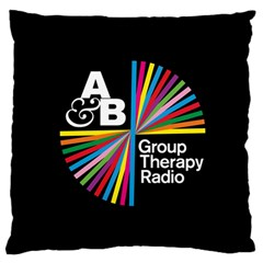 Above & Beyond  Group Therapy Radio Standard Flano Cushion Case (one Side) by Onesevenart