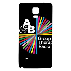 Above & Beyond  Group Therapy Radio Galaxy Note 4 Back Case by Onesevenart