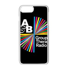 Above & Beyond  Group Therapy Radio Apple Iphone 7 Plus White Seamless Case by Onesevenart