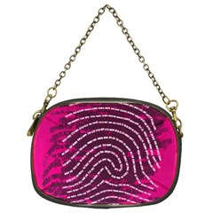 Above & Beyond Sticky Fingers Chain Purses (two Sides)  by Onesevenart