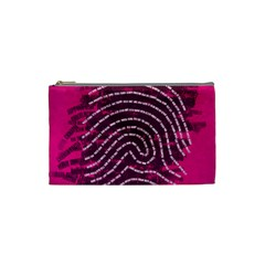 Above & Beyond Sticky Fingers Cosmetic Bag (small)  by Onesevenart