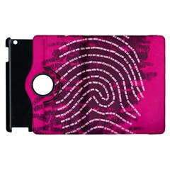 Above & Beyond Sticky Fingers Apple Ipad 2 Flip 360 Case by Onesevenart