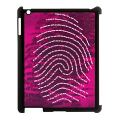 Above & Beyond Sticky Fingers Apple Ipad 3/4 Case (black) by Onesevenart