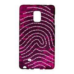 Above & Beyond Sticky Fingers Galaxy Note Edge by Onesevenart
