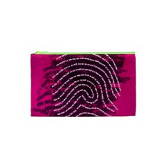 Above & Beyond Sticky Fingers Cosmetic Bag (xs) by Onesevenart