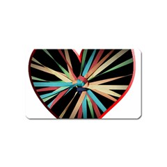 Above & Beyond Magnet (name Card) by Onesevenart