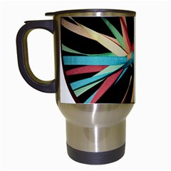Above & Beyond Travel Mugs (white) by Onesevenart