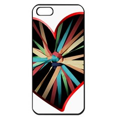 Above & Beyond Apple Iphone 5 Seamless Case (black) by Onesevenart
