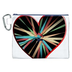 Above & Beyond Canvas Cosmetic Bag (xxl) by Onesevenart