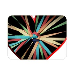 Above & Beyond Double Sided Flano Blanket (mini)  by Onesevenart