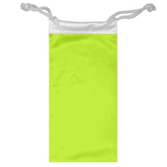 Neon Color   Light Brilliant Lime Green Jewelry Bag by tarastyle