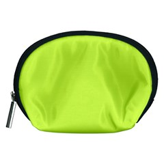 Neon Color   Light Brilliant Lime Green Accessory Pouches (medium)  by tarastyle