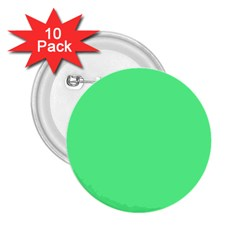 Neon Color   Light Brilliant Malachite Green 2 25  Buttons (10 Pack)  by tarastyle