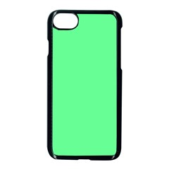 Neon Color   Light Brilliant Malachite Green Apple Iphone 7 Seamless Case (black) by tarastyle