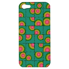 Tiled Circular Gradients Apple Iphone 5 Hardshell Case by linceazul