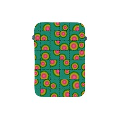 Tiled Circular Gradients Apple Ipad Mini Protective Soft Cases by linceazul