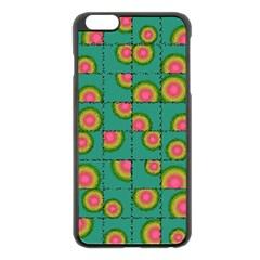 Tiled Circular Gradients Apple Iphone 6 Plus/6s Plus Black Enamel Case by linceazul