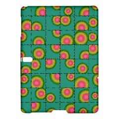 Tiled Circular Gradients Samsung Galaxy Tab S (10 5 ) Hardshell Case  by linceazul