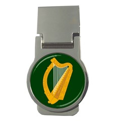Flag Of Leinster Money Clips (round)  by abbeyz71