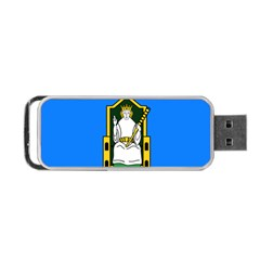 Flag Of Mide Portable Usb Flash (one Side) by abbeyz71
