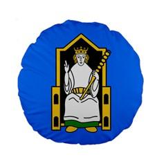Flag Of Mide Standard 15  Premium Round Cushions by abbeyz71