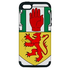 County Antrim Coat Of Arms Apple Iphone 5 Hardshell Case (pc+silicone) by abbeyz71