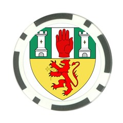 County Antrim Coat Of Arms Poker Chip Card Guard (10 Pack) by abbeyz71
