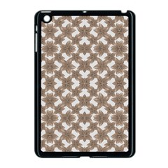 Stylized Leaves Floral Collage Apple Ipad Mini Case (black) by dflcprints