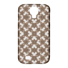 Stylized Leaves Floral Collage Samsung Galaxy S4 Classic Hardshell Case (pc+silicone) by dflcprints