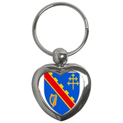 County Armagh Coat Of Arms Key Chains (heart)  by abbeyz71