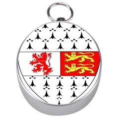 County Carlow Coat Of Arms Silver Compasses by abbeyz71